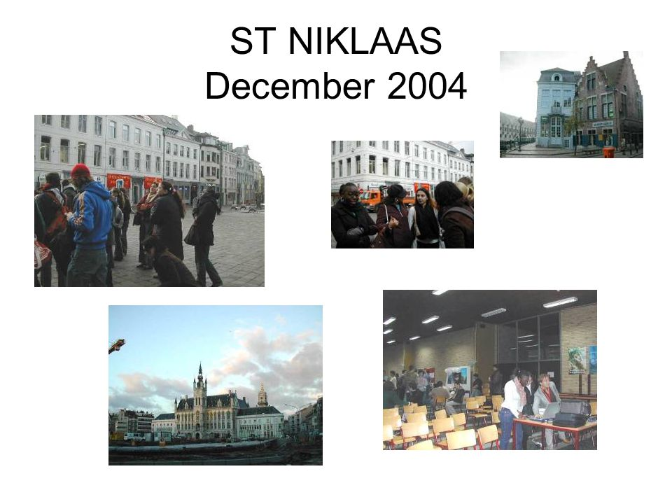 ST NIKLAAS December 2004