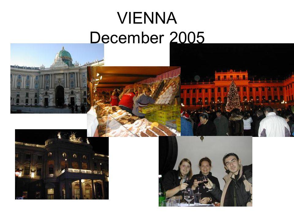 VIENNA December 2005
