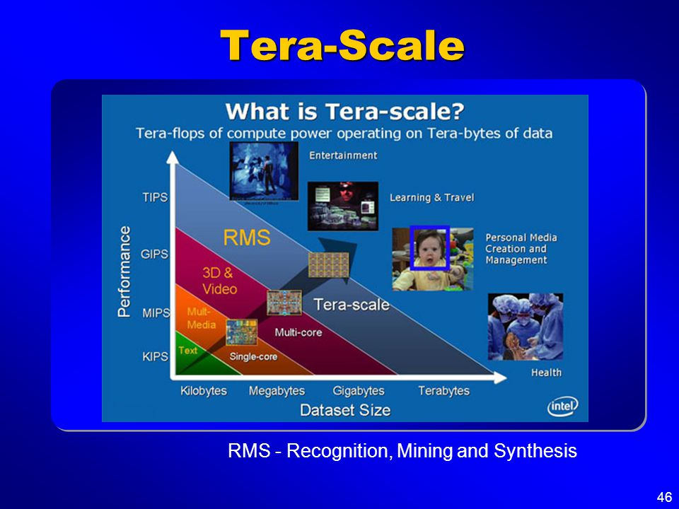 46 Tera-Scale RMS - Recognition, Mining and Synthesis