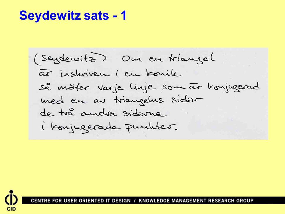Seydewitz sats - 1
