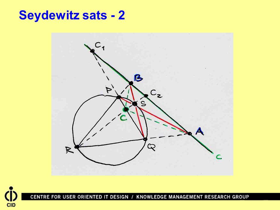 Seydewitz sats - 2