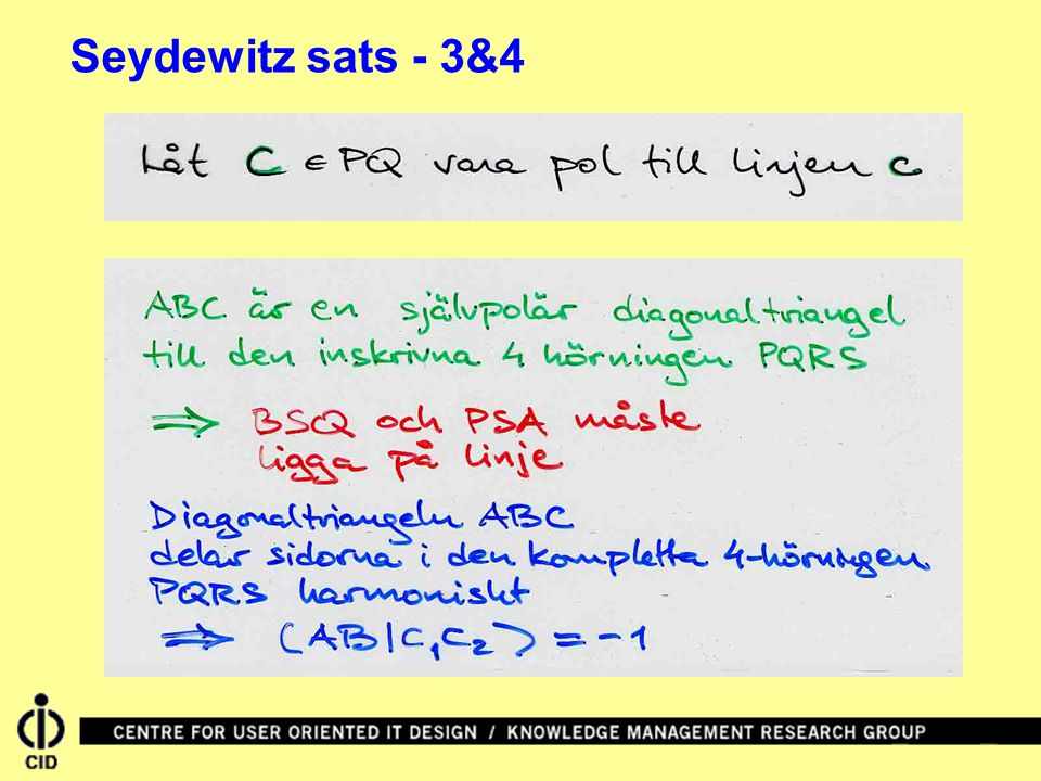 Seydewitz sats - 3&4