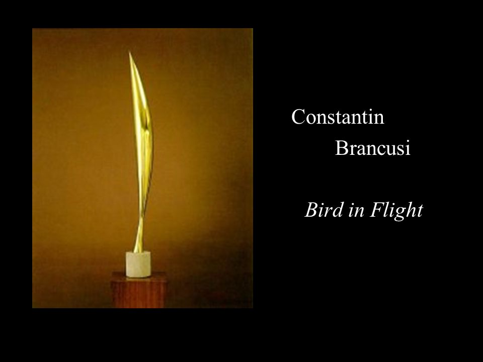 Constantin Brancusi Bird in Flight