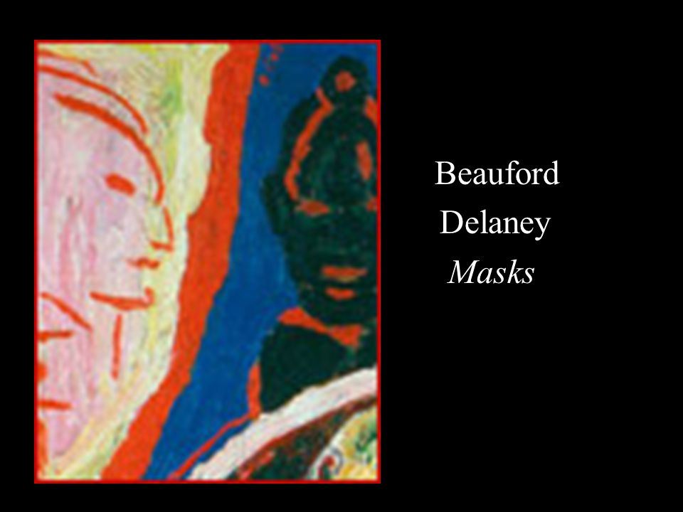 Beauford Delaney Masks