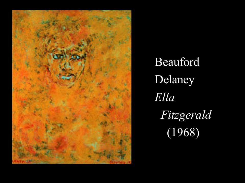 Beauford Delaney Ella Fitzgerald (1968)
