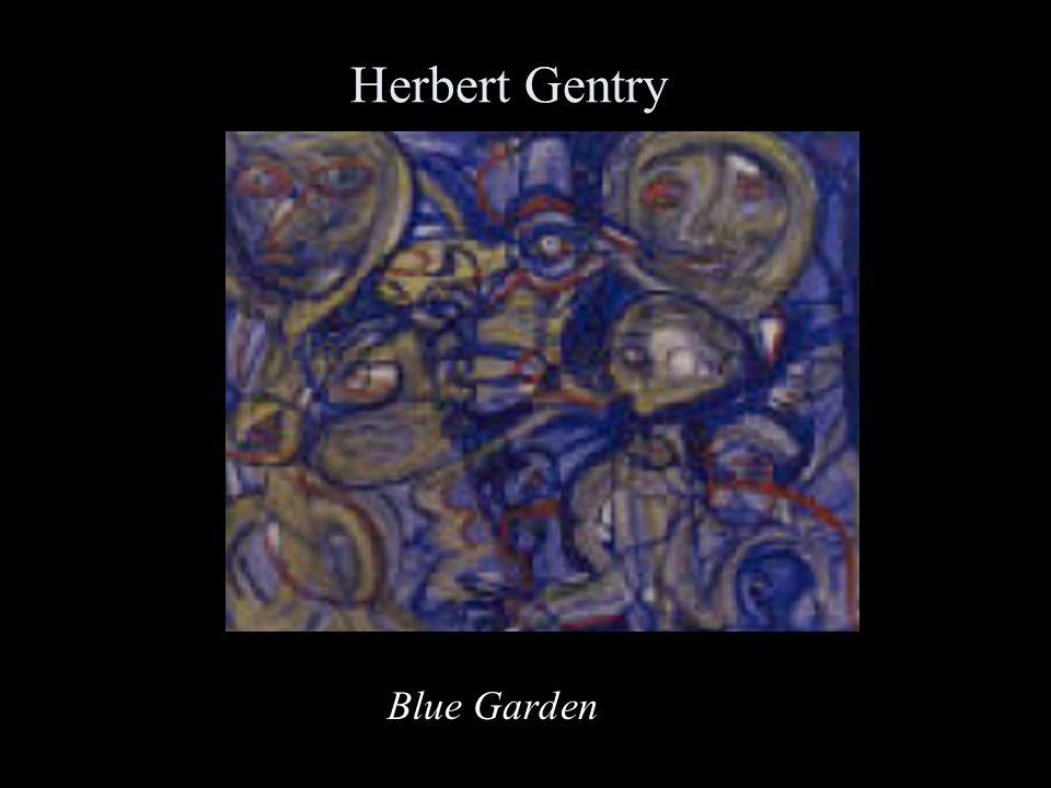 Herbert Gentry Blue Garden