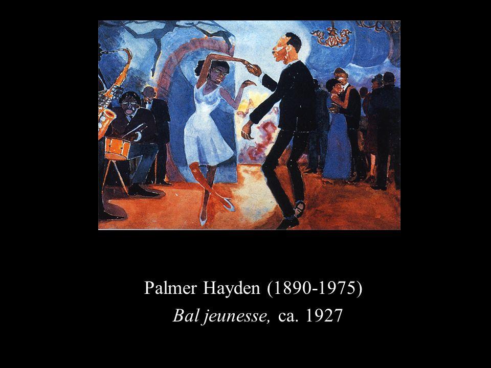 Palmer Hayden (1890-1975) Bal jeunesse, ca. 1927
