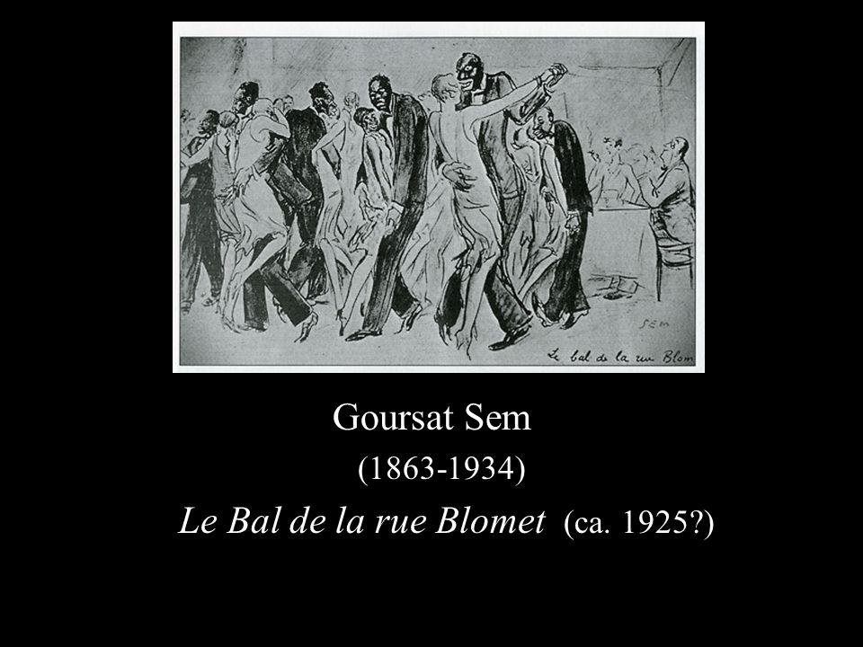 Goursat Sem (1863-1934) Le Bal de la rue Blomet (ca. 1925 )
