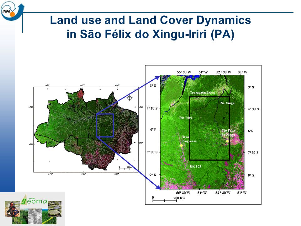 Land use and Land Cover Dynamics in São Félix do Xingu-Iriri (PA)