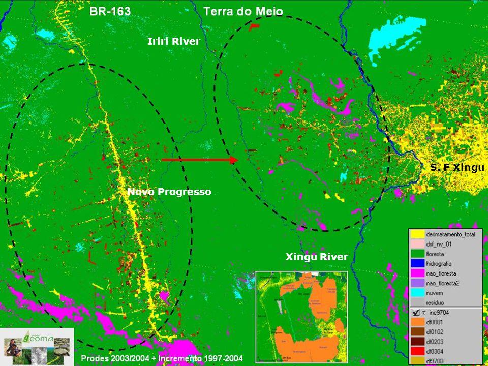 Iriri River S. F Xingu Xingu River Novo Progresso
