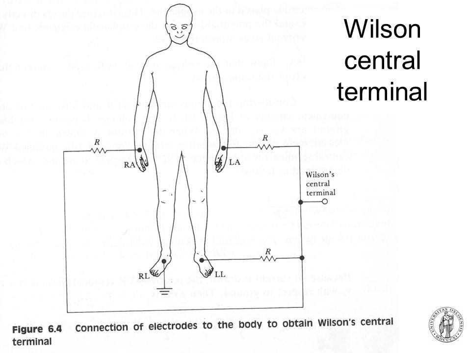 Fysisk institutt - Rikshospitalet 5 Wilson central terminal