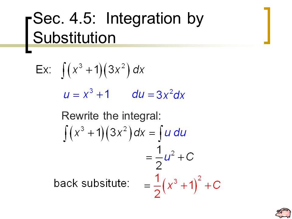 Rewrite the integral: