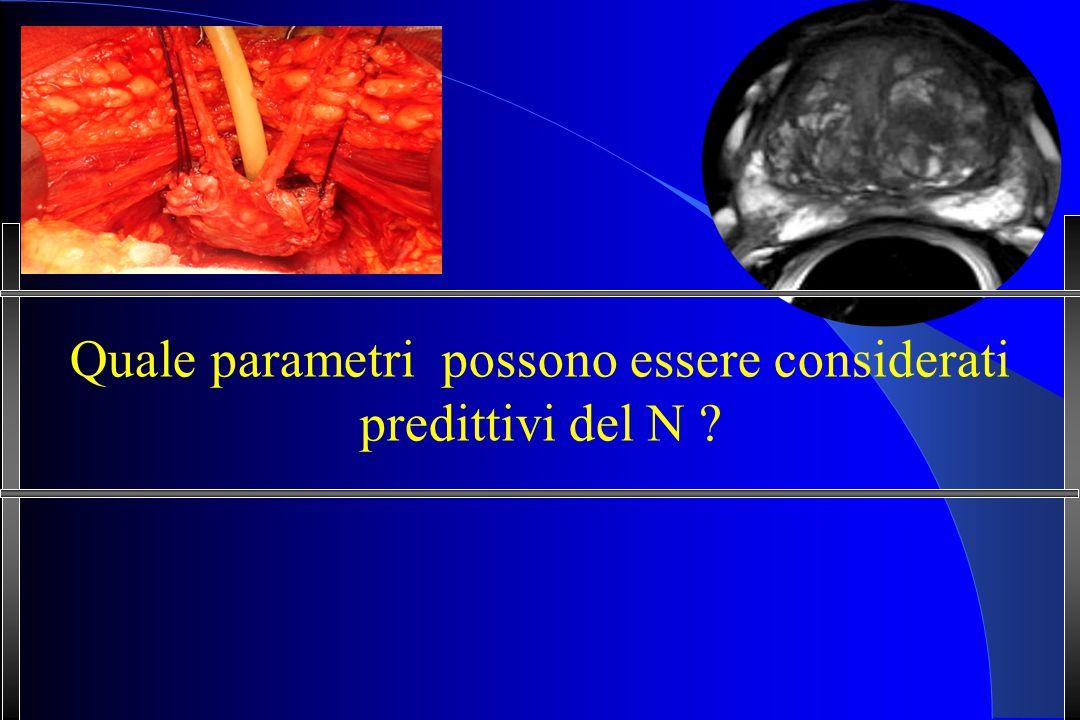 Quale parametri possono essere considerati predittivi del N