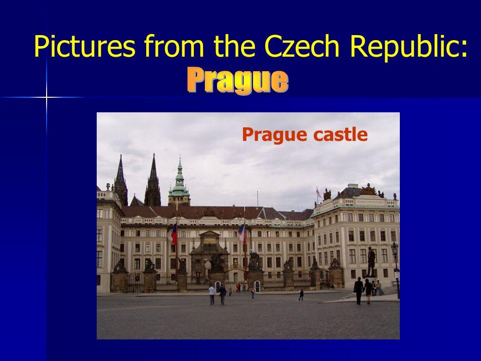 Pictures from the Czech Republic: Prague castle