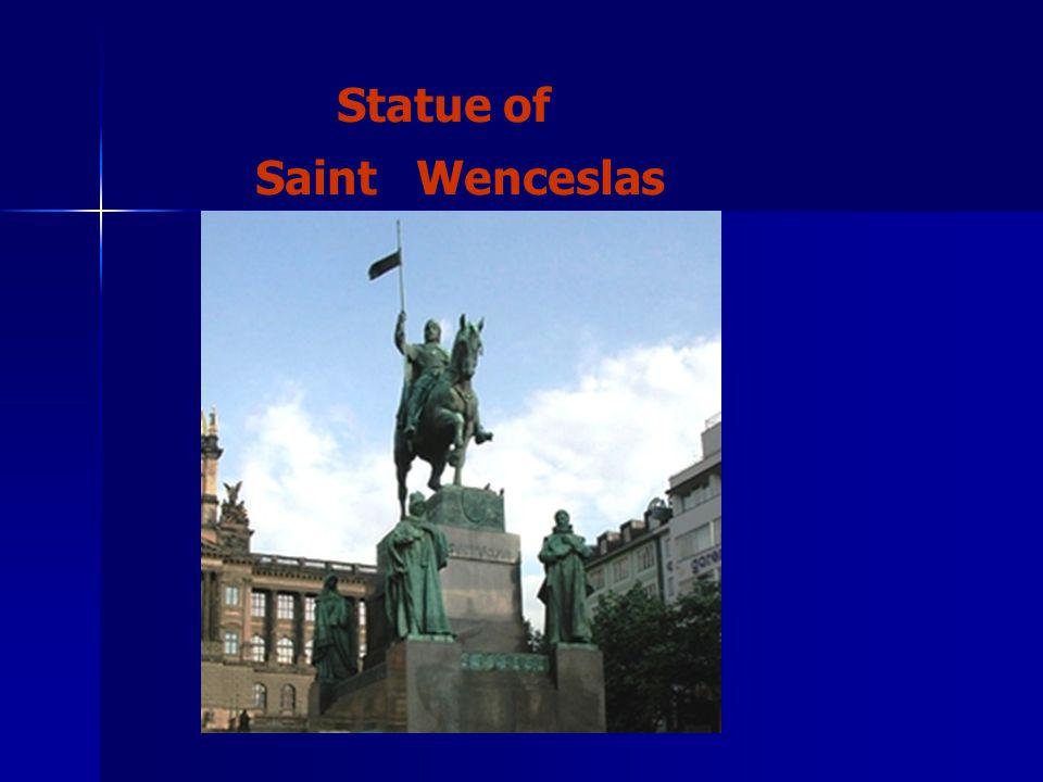 Statue of Saint Wenceslas