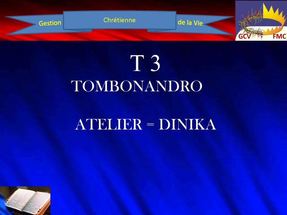 T 3 TOMBONANDRO ATELIER = DINIKA