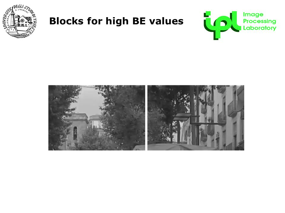 R&D Forum - 22 maggio 2009 Blocks for high BE values