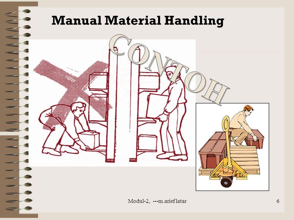 Manual Material Handling Modul-2, ---m.arief latar6