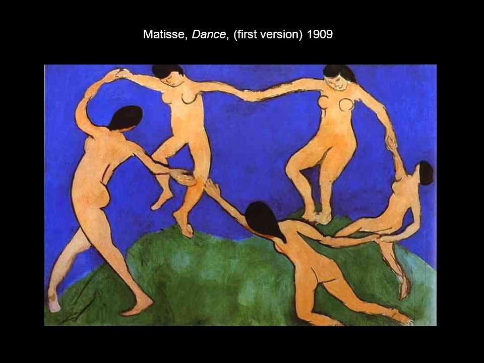 Matisse, Dance, (first version) 1909