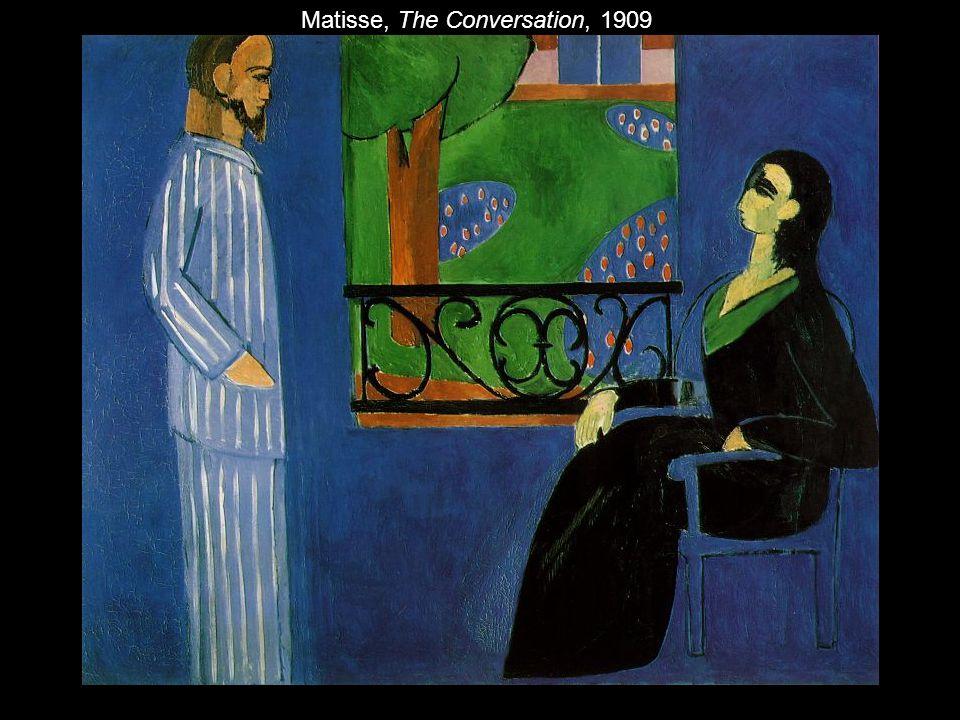 Matisse, The Conversation, 1909