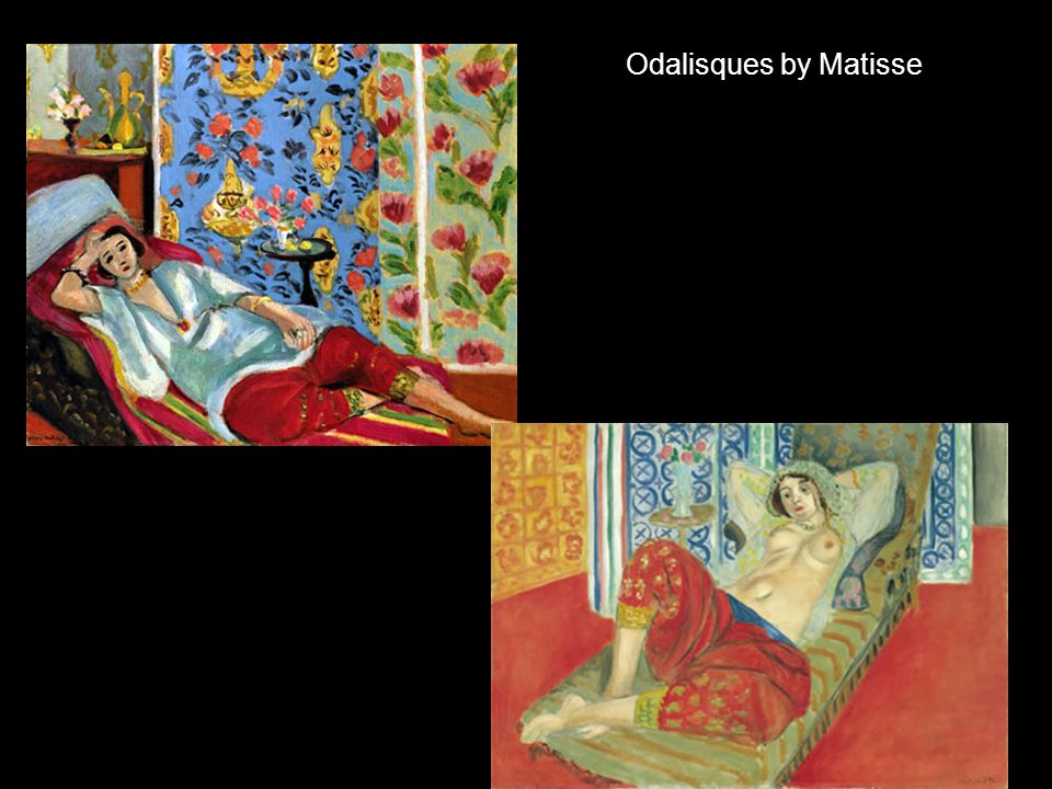 Odalisques by Matisse