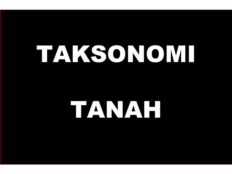 TAKSONOMI TANAH