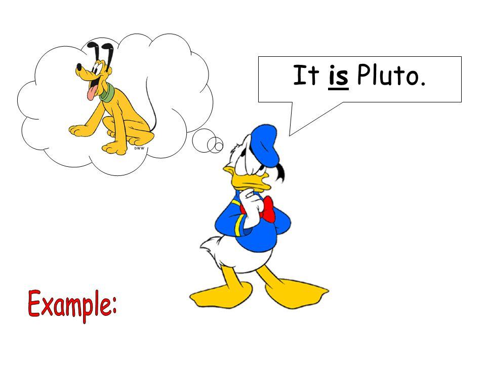 It is Pluto.