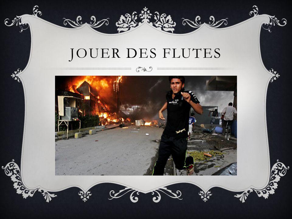 JOUER DES FLUTES