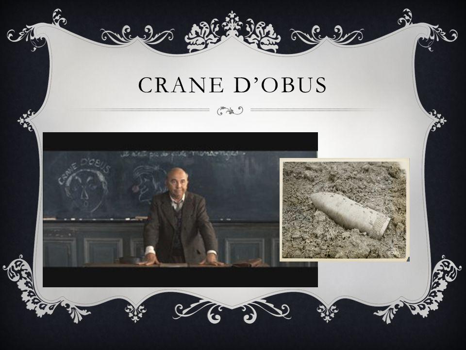 CRANE D'OBUS