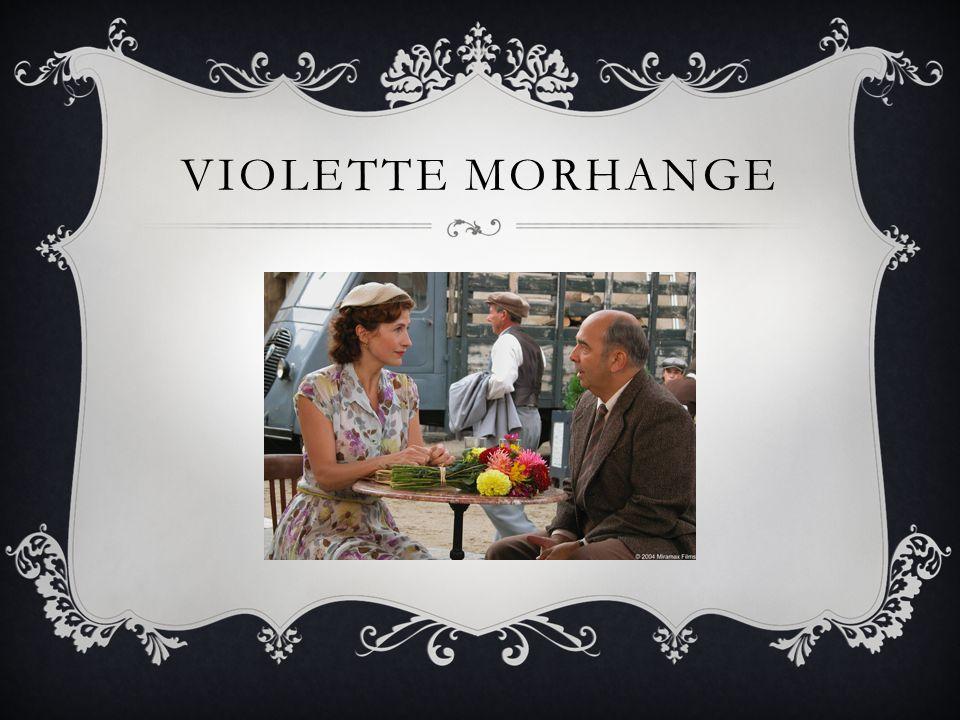 VIOLETTE MORHANGE