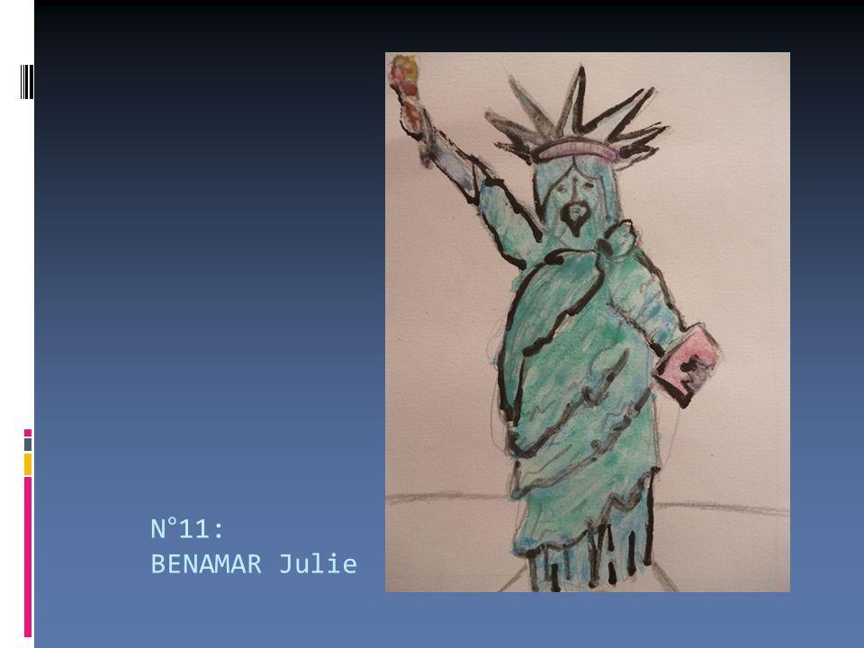 N°11: BENAMAR Julie