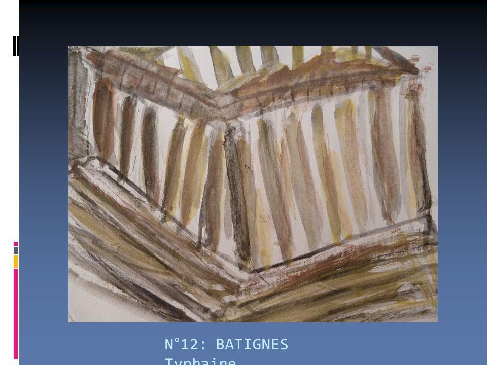 N°12: BATIGNES Typhaine