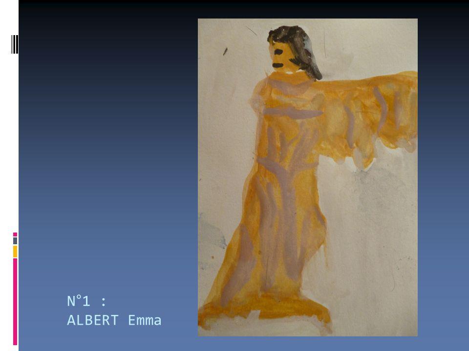 N°1 : ALBERT Emma