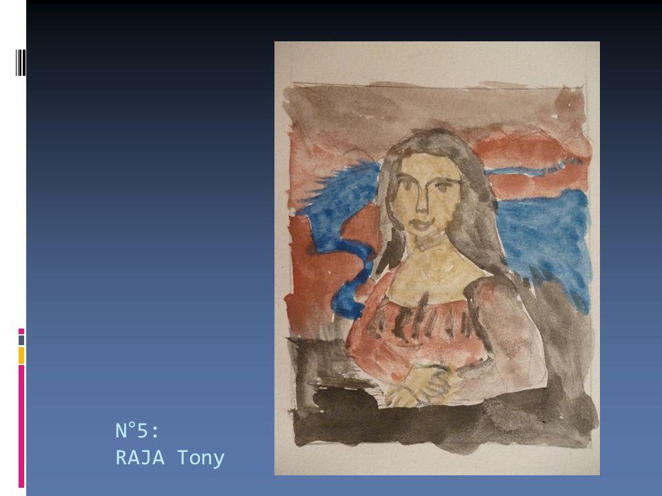 N°5: RAJA Tony