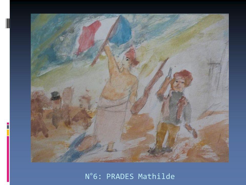 N°6: PRADES Mathilde