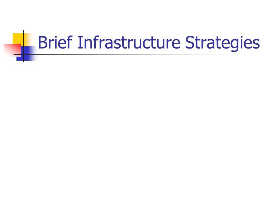 Brief Infrastructure Strategies