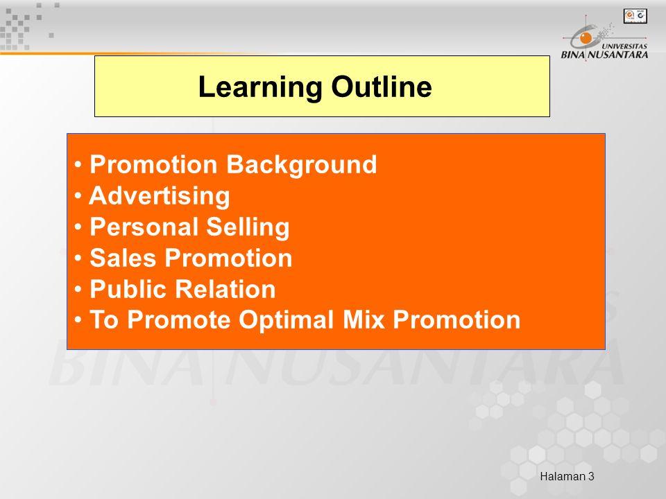 Halaman 4 1.Promotion Background a.