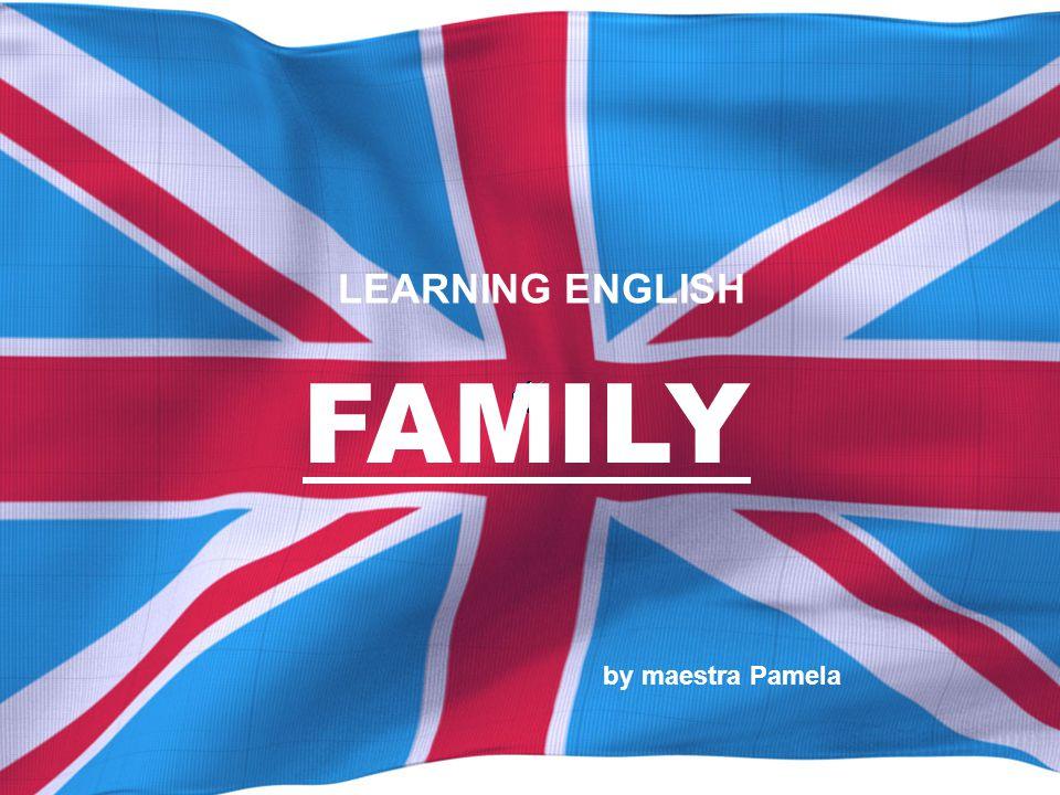 FAMILY by maestra Pamela LEARNING ENGLISH