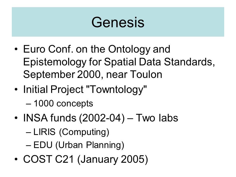 Genesis Euro Conf.