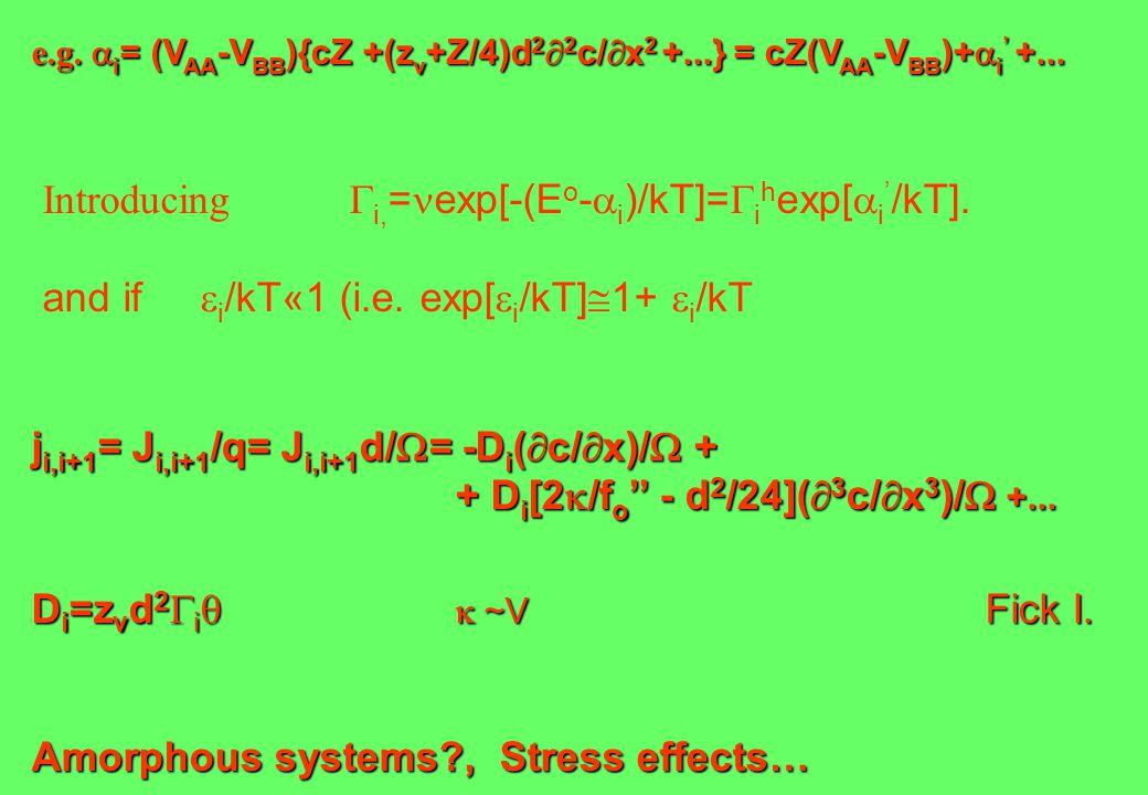 e.g.  i = (V AA -V BB ){cZ +(z v +Z/4)d 2  2 c/  x 2 +...} = cZ(V AA -V BB )+  i ' +...