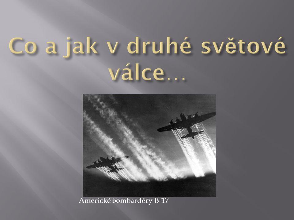 Americké bombardéry B - 17