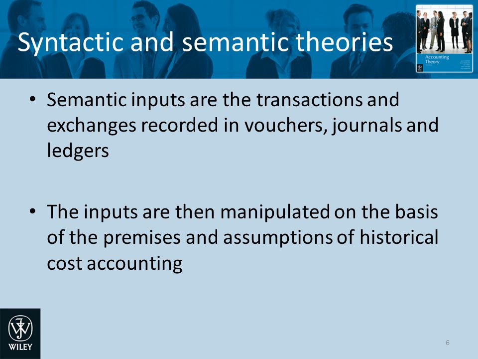 Syntactic and semantic theories Criticised because there is no independent empirical verification of the calculated outputs The outputs may be criticised for poor syntax inaccurate e.g.
