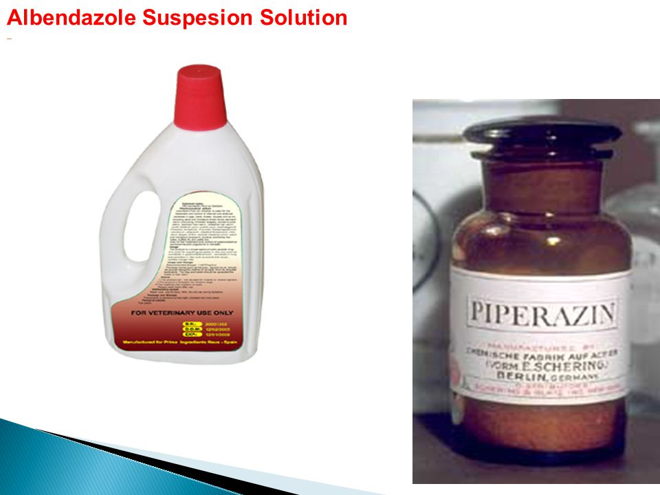 Albendazole Suspesion Solution