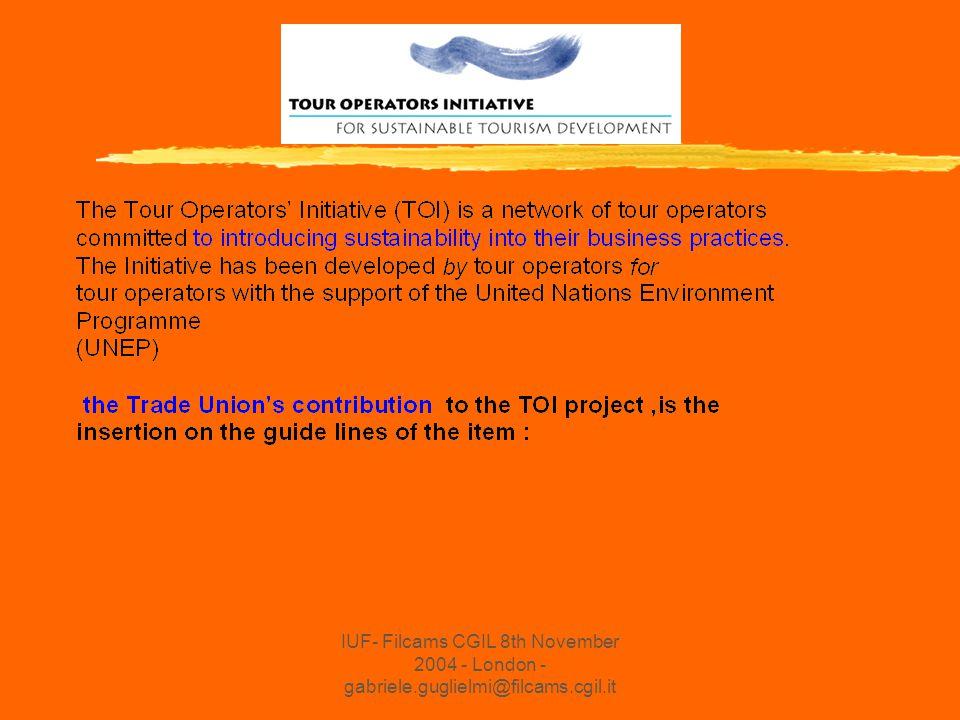 IUF- Filcams CGIL 8th November 2004 - London - gabriele.guglielmi@filcams.cgil.it