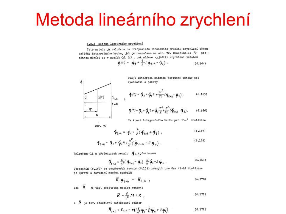Metoda lineárního zrychlení