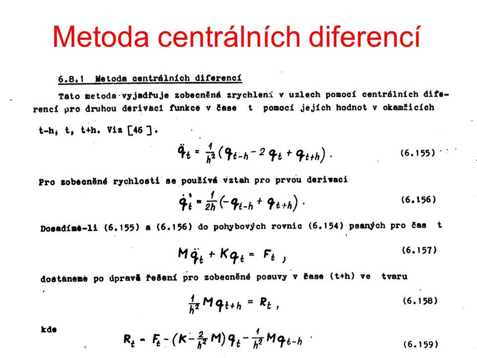 Metoda centrálních diferencí