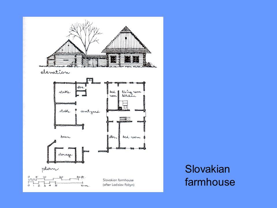 Slovakian farmhouse