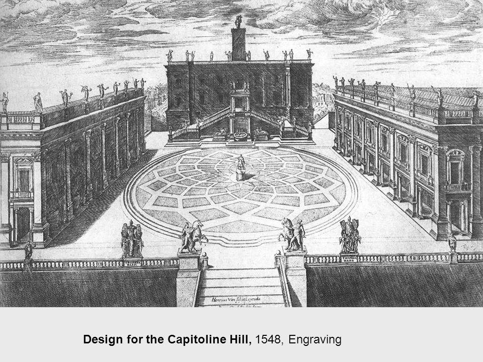 Piazza Campidoglio, 1548, Piazza Campidoglio, Rome