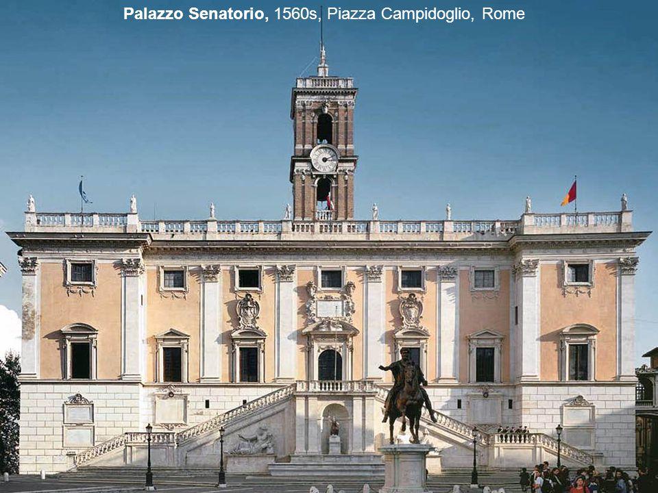 Palazzo dei Conservatori, 1560s, Piazza Campidoglio, Rome