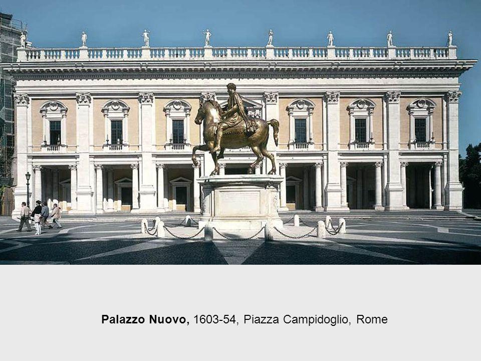 Palazzo Senatorio, 1560s, Piazza Campidoglio, Rome